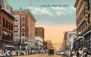 Sioux City IA~Davidson's Department Store~Security National Bank Postcard c1910