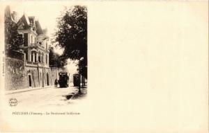 CPA POITIERS - Le Boulevard Solferino (255768)
