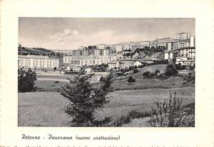 Italy Old Vintage Antique Post Card Potenza Panorama Unused