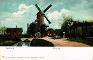 CPA VOORBURG Achterweg NETHERLANDS (602178)