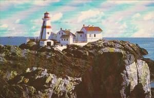 Canada Head Harbour Lighthouse Campobello Island New Brunswick