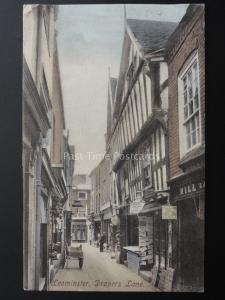 Herefordshire LEOMINSTER Drapers Lane c1905 by Frith 51922