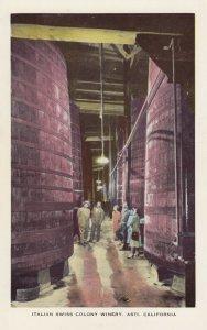 ASTI , California, 1950-60s ; Italian Swiss Colony Winery