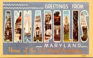Greetings From Annapolis Maryland Home Of The U S Naval Academy