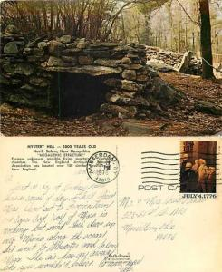 Megalithic Structure, Mystery Hill, North Salem, New Hampshire, NH, 1976 Chrome