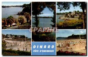 Postcard Modern Dinard Cote D Emeraude
