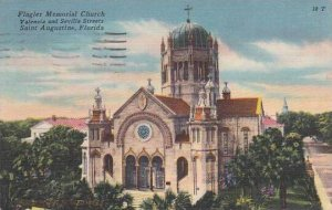 Florida Saint Augustine Flagler memorial Church Valencia And Sevilla Streets ...