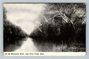 Twin Cities MN-Minnesota, On The Minnesota River, Vintage Postcard