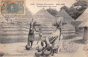 Upper Guinea, Haute-Guinee, Puits dans une cour 1910