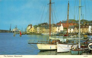 Vintage Dorset Postcard, The Harbour, Weymouth 62Z