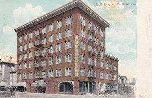 PORTLAND , Oregon , 00-10s ; Hotel Oregon