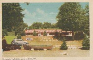 MIDLAND , Ontario , Canada , 1930s ; Community Hall, Little Lake