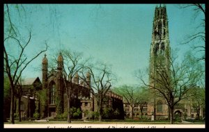 Harkness Memorial Tower and Dwight Memorial Chapel,Yale University,New Haven,CT
