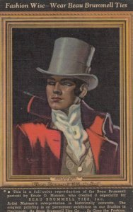 ADV; 1930-40s ; Beau Brummell Ties , Cincinnati , Ohio