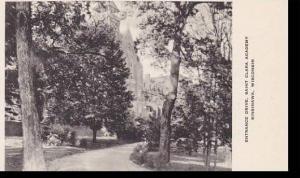 Wisconsin Sinsinawa Enterance Drive Saint Clara Academy Albertype