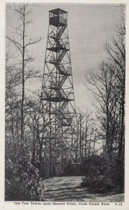 Fire Tower , Seneca Point , Cook Forest Park , Pennsylvania , 1930s