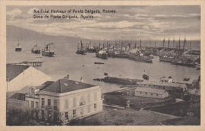 PONTA DELGADA, Azores, Portugal, 00-10s; Artificial Harbour