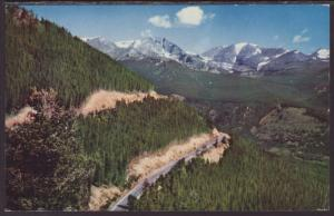 Switchbacks,Timber Ridge Road,CA Postcard BIN