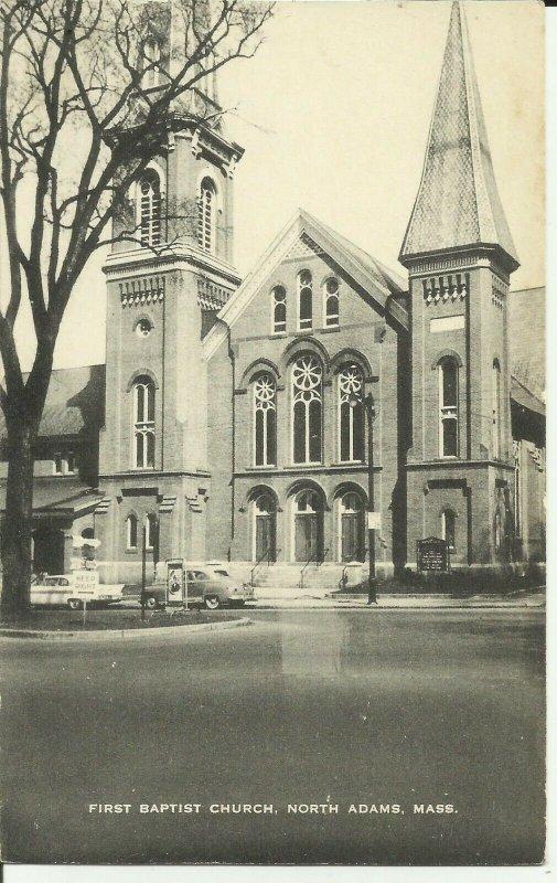 First Baptist Church, North Adams,Mass