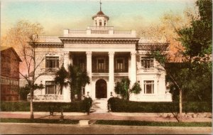South Carolina SC Charleston South Battery Villa Margherita Postcard Old Vintage