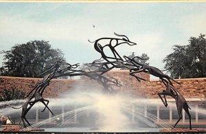 Impala Fountain Philadelphia, Pennsylvania, USA Unused