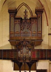 Luebeck St Jakobi Kirche Kleine Orgel Stellwagen Orgel