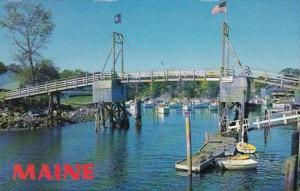 Maine Ogunquit Perkins Cove Drawbridge