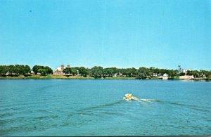 Minnesota Fulda Boating On Fulda Lake