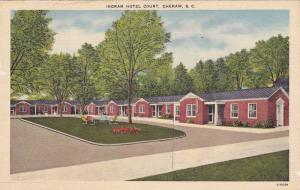 Ingram Hotel Court, Cheraw, South Carolina, 30-40s