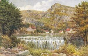England Cheddar Cascade At Cliff Hotel