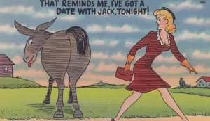 Donkey ; That reminds me , I've got a date with Jack, Tonight! , 30-40s