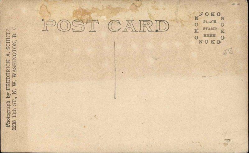 Washington DC Woodrow Wilson Inauguration 1913 Real Photo Postcard