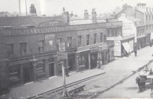 Lewisham London Lion & Lamb Pub Coal Merchants in 1880s Postcard