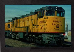 Union Pacific Railroad Train U50 Locomotive 47 U-Boat Postcard PC