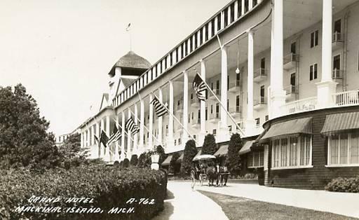 MI - Mackinac Island, Grand Hotel    *RPPC
