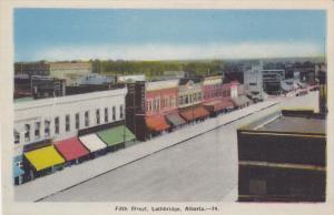 Fifth Street , LETHBRIDGE , Alberta , Canada , 1930s