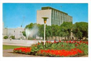 Memorial Park & Norquay Building,  Winnipeg,  Manitoba,  Canada,   40-60s