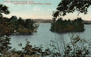 1000 Islands, Ontario, 00-10s ;  East from Granite Island, St. Lawrence River