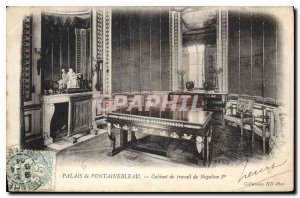 Postcard Old Palace of Fontainebleau Office of Labor Napoleon