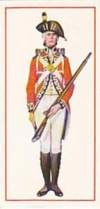 Carreras Vintage Cigarette Card Military Uniforms 1976 No 10 Private 1791 Fir...