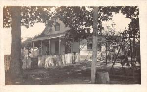 D60/ East Windsor Ohio Real Photo RPPC Postcard c1910 Morgan County Home 1