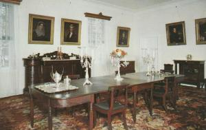 8880 Dining Room of The Hermitage, near Nashville, Tennessee