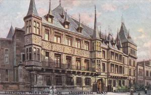 TUCK #737; LUXEMBOURG; Le Palais grand-ducal, Grossherzogl Pacast, 00-10s