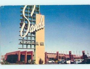 1950's SANDS CASINO HOTEL Las Vegas Nevada NV AE1175