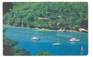 St Lucia , 40-60s ; Harbour at Marogot bay