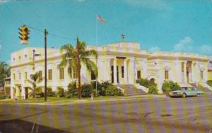 Florida Eustis City Hall Public Library and City Auditorium 1966