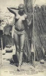 Senegal African Nude Nudes Postcard Post Card  Senegal