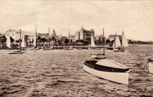 Sailing, Sailboats, Esplanade From Bay, Durban, South Africa, 1900-1910s