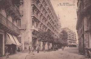ALGER , 1900-10s ; La Rue de Constantine