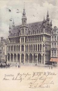 La maison du Roi, Bruxelles, Belgium, PU-1915